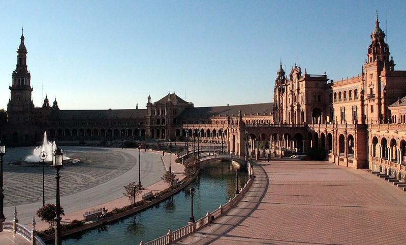 Plaza España - O que ver em Sevilha