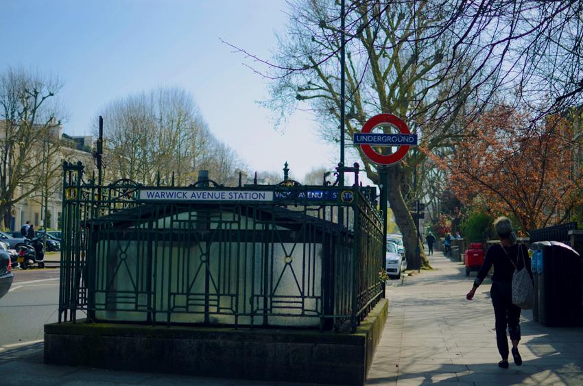 little venice warwick avenue tube station