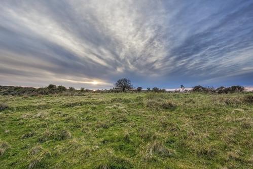 sunset sky rural denmark 1740mm 6d saltmarshes landoflight canoneos6d hlandersen uggerbyå