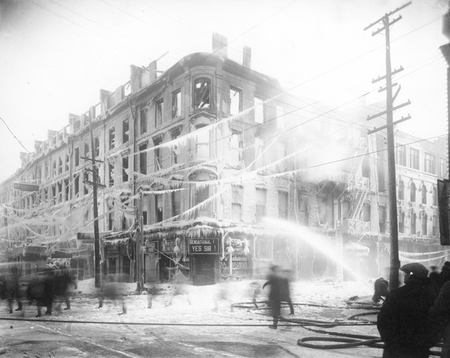 Lister Block Fire, February 23, 1923