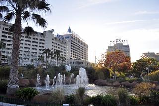 Algunos hoteles de Marina d'Or desde los jardines Marina D'or, ciudad de vacaciones para niños y adultos - 14167226936 471ce537e7 n - Marina D'or, ciudad de vacaciones para niños y adultos