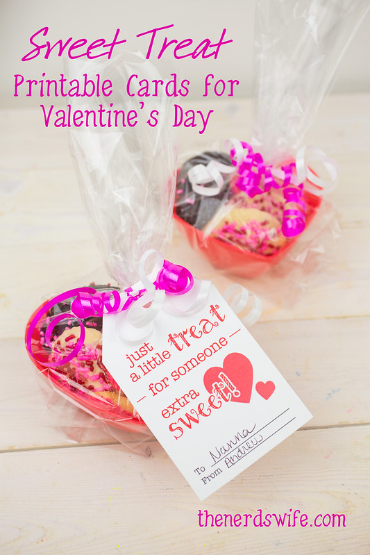 Sweet Treat Valentine Printable