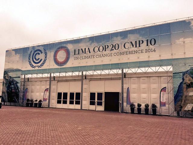 लीमा में जलवायु परिवर्तन सम्मेलन