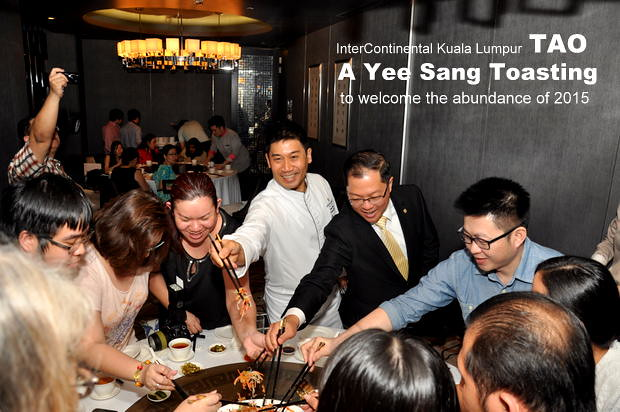TAO Intercontinental Hotel Kuala Lumpur Chinese New Year