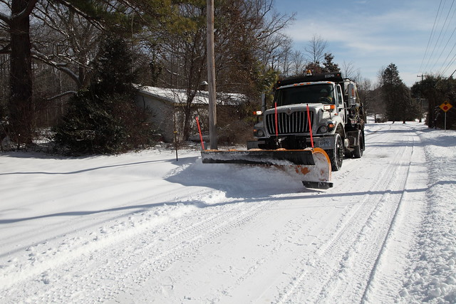 VDOT Cleans Up after the President's Day Storm