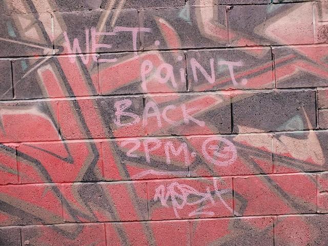 Gremlin alley street art