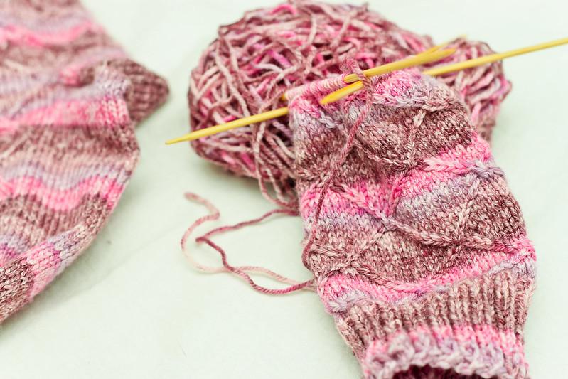Second Sock in Progress