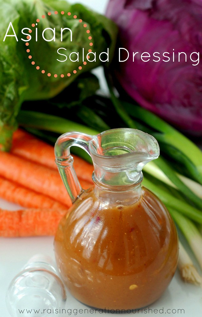 Asian Salad Dressing :: MSG , Gluten, & Soy Free