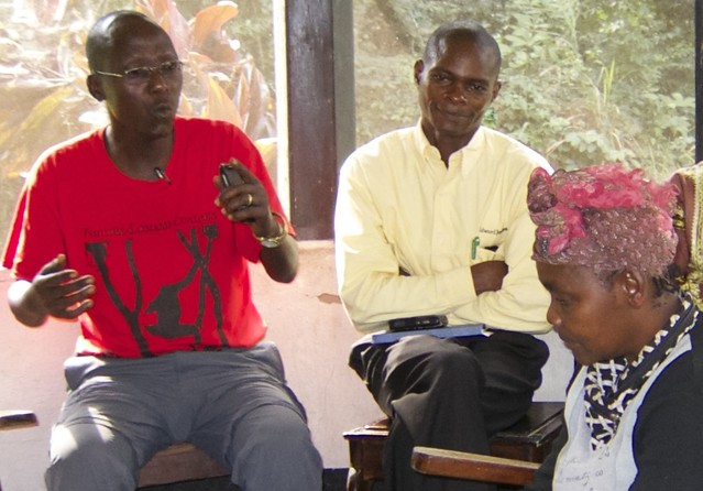 Dino, Ewango and mamaBakebi