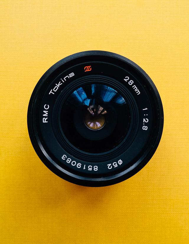 vintage RMC tokina 2.8 28mm lens
