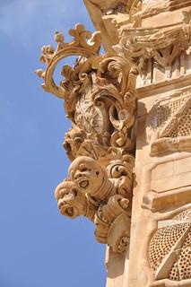 Image of Palazzo Beneventano. italy gargoyle sicily scicli palazzobeneventano