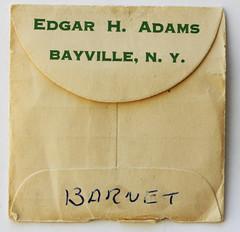 601-B500 envelope back (Joseph Barnet)