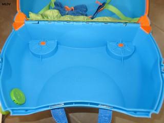 intérieur Valise Trunki Bleue Terrance