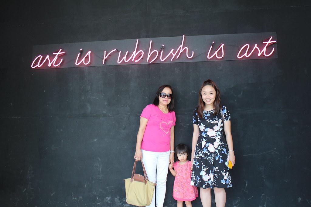 Art is Rubbish is Art