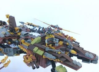 Steampunk Hurricane Heist (details)