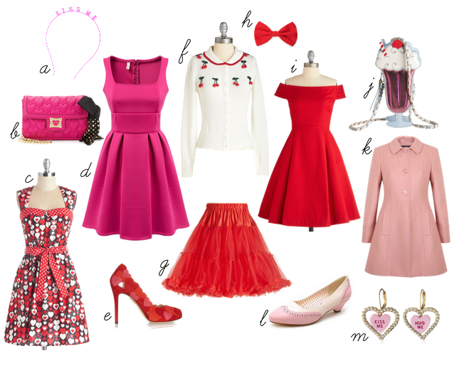 valentine outfit polyvore