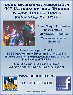 DCBS Happy Hour Fun with The Mojo Priests