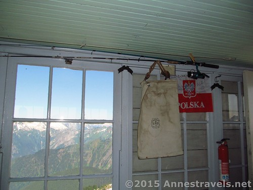 More interior views of the Hidden Lake Lookout, Mount Baker-Snoqualmie National Forest and North Cascades National Park, Washington