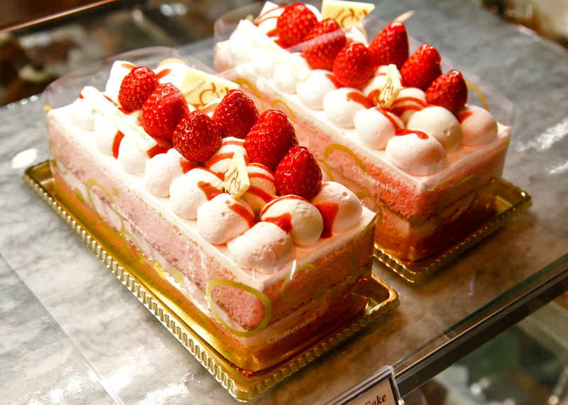 Chateraise Strawberry Cake