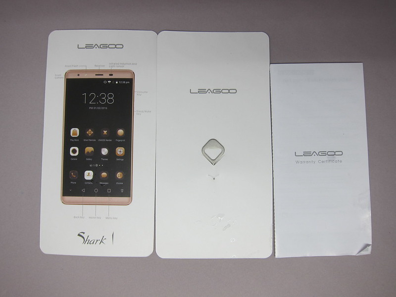 Leagoo Shark 1 - Booklets