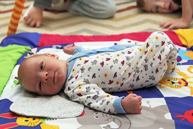 First Time on Play Mat