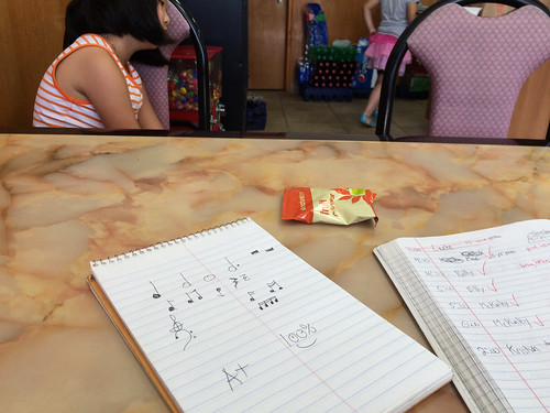 Music Lessons at China Wok (May 24 2015)