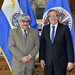 New Permanent Representative of El Salvador to the OAS Presents Credentials