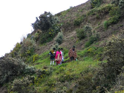 La Laguna de Quilotoa: tour du cratère par les crêtes