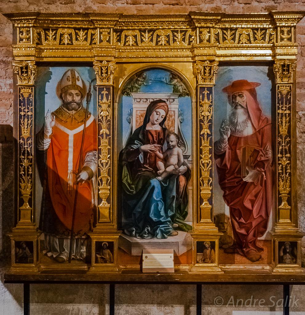 Мила́н. Церковь Сант-Амброджо