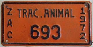 MEXICO, ZACATECAS 1972 ---ANIMAL DRAWN VEHICLE