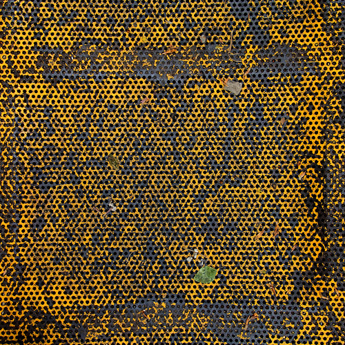 Grating Yellow Patina