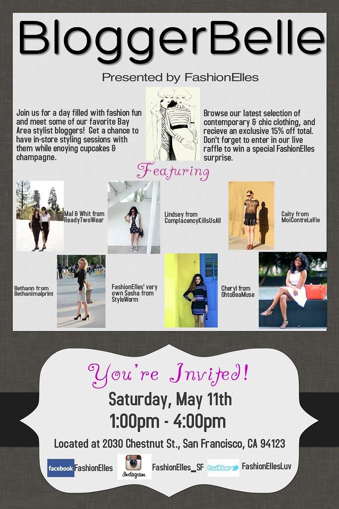 BloggerBelle Event - 5.11