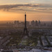 Eiffel Tower Sunset by 1982Chris911 (Thank you 5.500.000 Times)