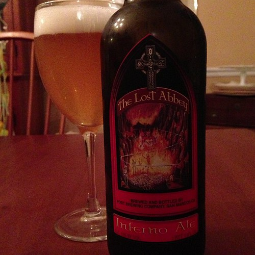 The Lost Abbey Inferno Ale