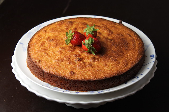 Kate's Short and Sweets: Grapefruit Cake - gluten free & dairy free