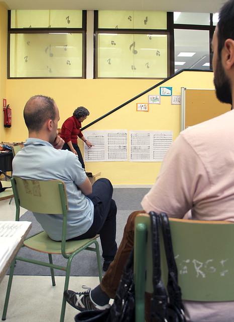 VIVIR LA MÚSICA, VIVIR CON LA MÚSICA - CURSO DE PEDAGOGÍA CON TERESA MALAGARRIGA - ESCUELA DE VALVERDE DE LA VIRGEN - 26.05.13
