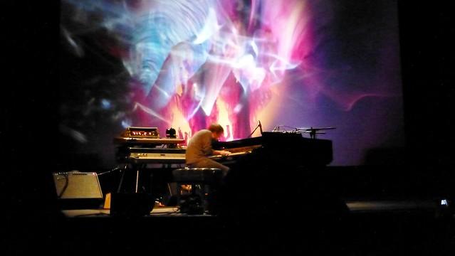 Nils Frahm + The Joshua Light Show @ MUTEK.MX 2012