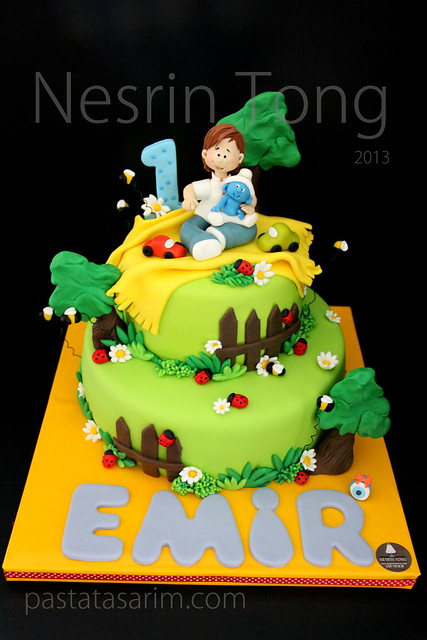 emir 1st.birthday cake