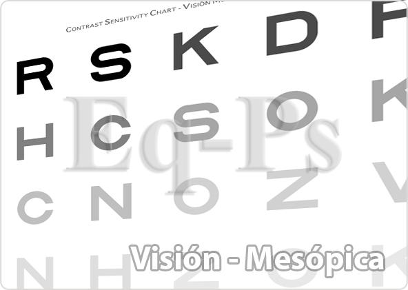 test de visión mesópica