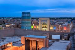 The Evening falls over Khiva, Uzbekistan (Unesco WHS)