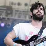 Yannis Philippakis photographed by Chad Kamenshine