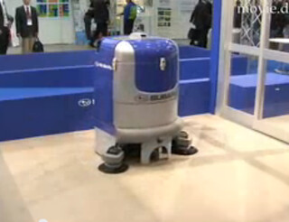 robot office cleaning system