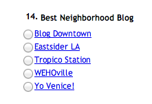 L.A. Weekly Web Awards!