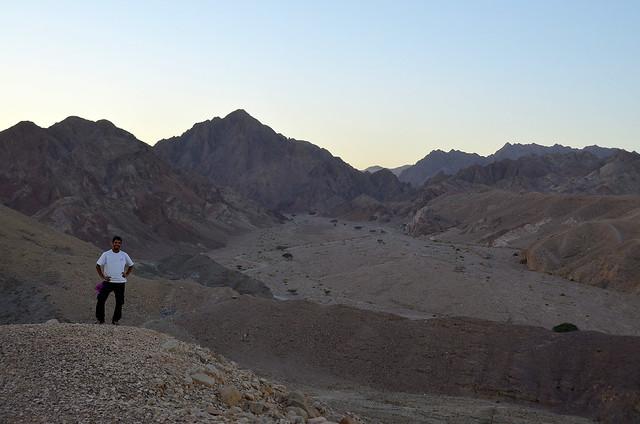 Nuestro guia en el desierto de neguev