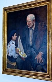 Grandfather explanations (1957) - Francisco Romano Esteves (1882 - 1960)