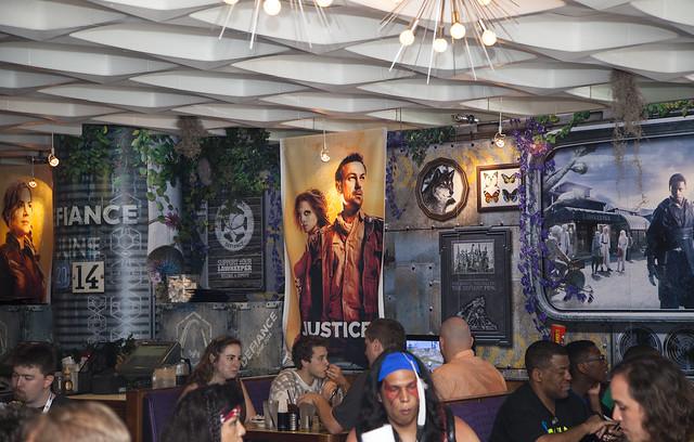 Defiance Cafe - dining area