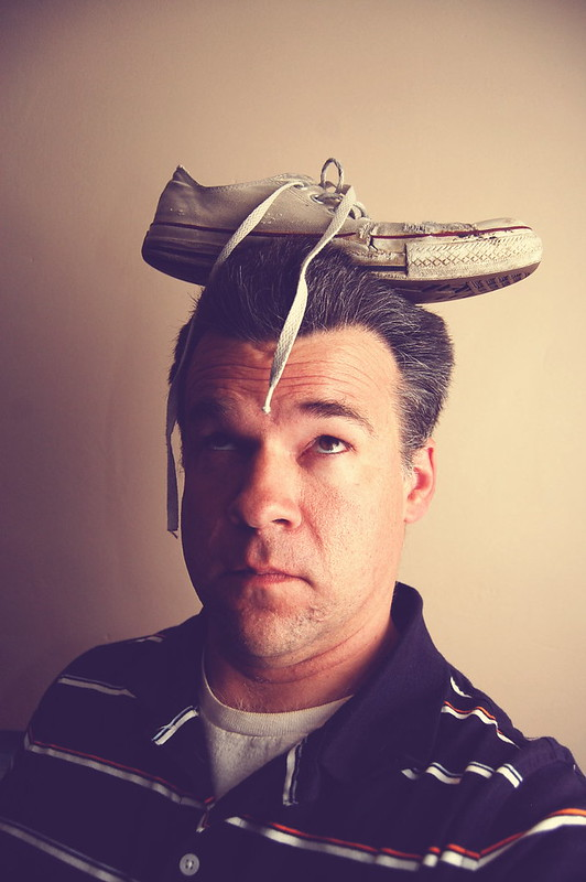 Shoe on Head