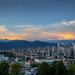 Vancouver's Skyline from Kitsilano by Shaadi Faris