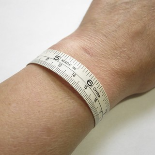 Measuring Tape Bracelet