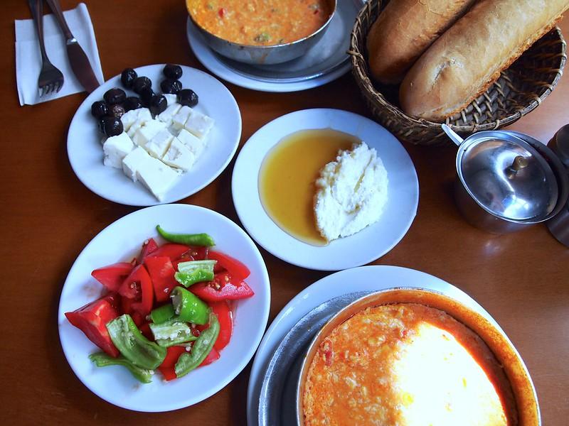 Turkish Breakfast - Istanbul, Turkey